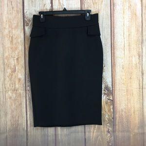 💸ZARA Wool Blend Midi Skirt Size Medium